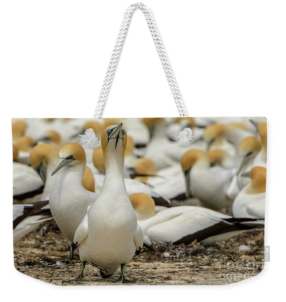On Guard Weekender Tote Bag