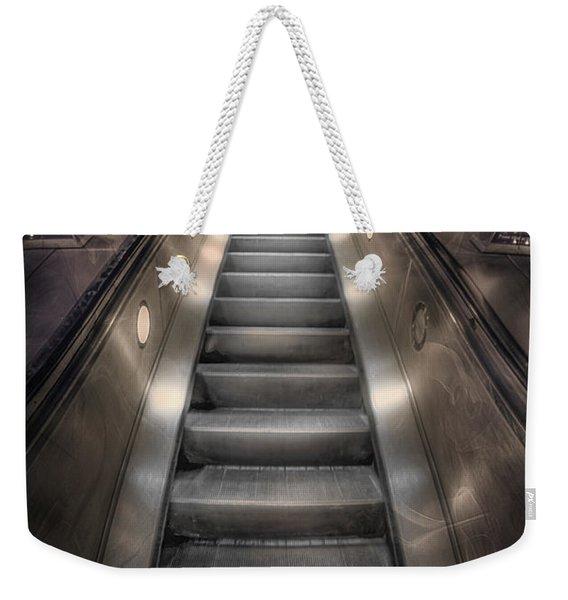 On Metal Monsters We Ride Weekender Tote Bag