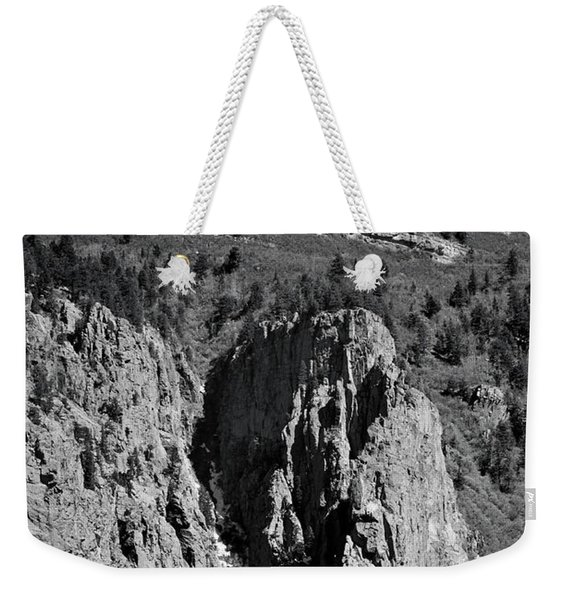 Weekender Tote Bag featuring the photograph On Sandia Mountain by Ron Cline