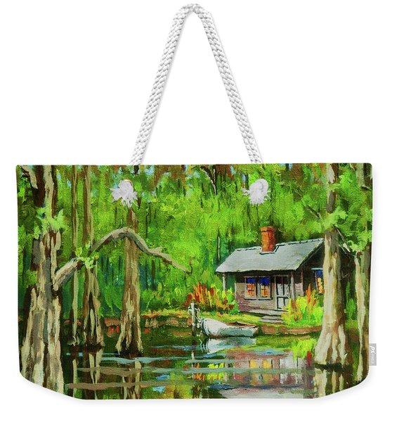 On The Bayou Weekender Tote Bag