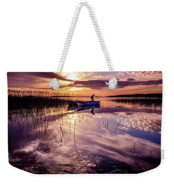 On The Boat Weekender Tote Bag