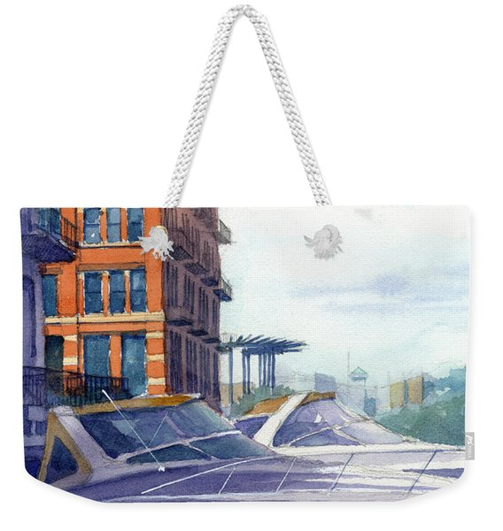 On The Docks Weekender Tote Bag