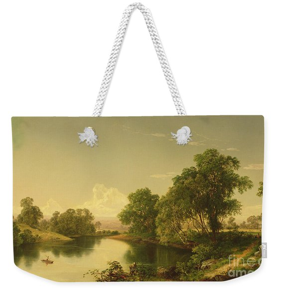 On The Esopus Creek, Ulster County, Ny Weekender Tote Bag