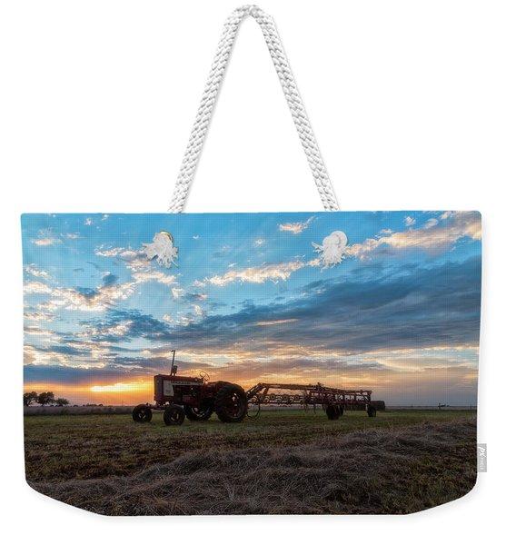 On The Farm Weekender Tote Bag