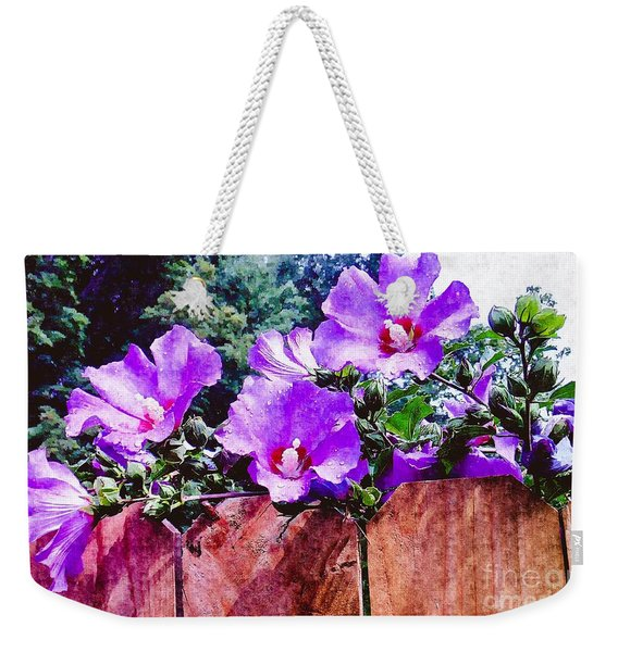 On The Fence  Weekender Tote Bag