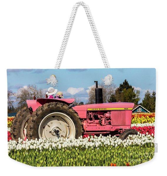 On The Field Of Beauty Weekender Tote Bag