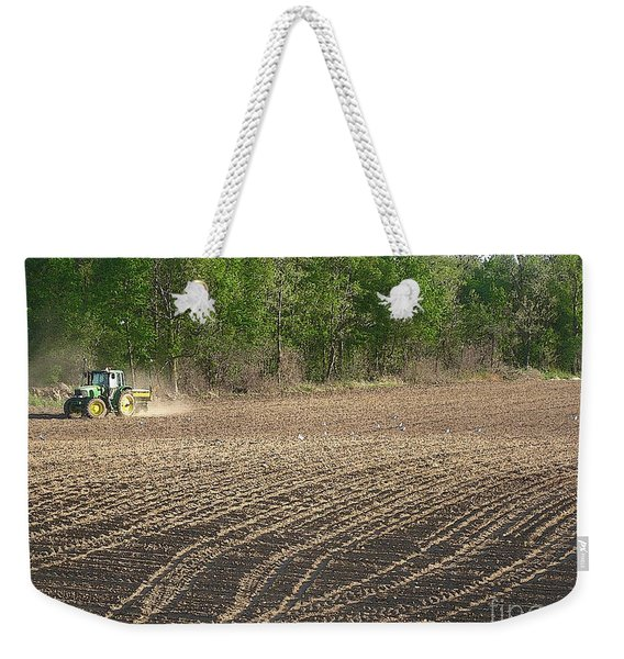 On The Land In May Weekender Tote Bag