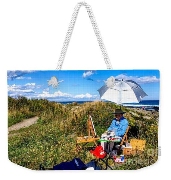 On The Maine Coast Weekender Tote Bag