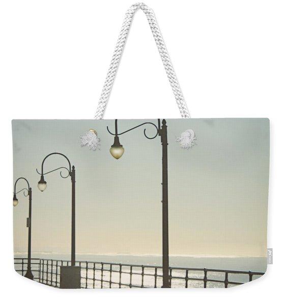 On The Pier Weekender Tote Bag