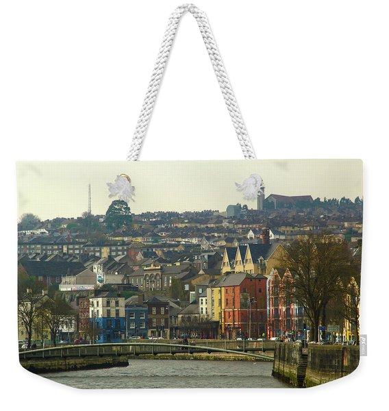 On The River Lee, Cork Ireland Weekender Tote Bag