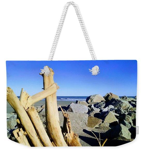 On The Rocks Weekender Tote Bag