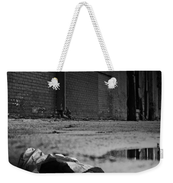 On The Seamy Side Of Town Weekender Tote Bag
