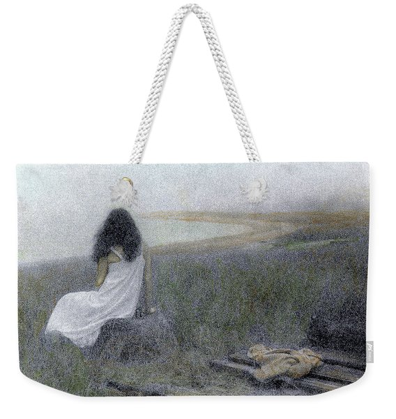 Weekender Tote Bag featuring the photograph On The Vineyard by Wayne King