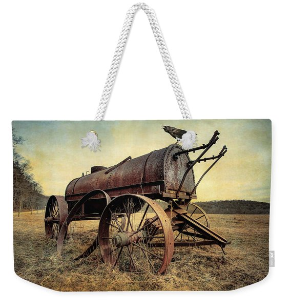 On The Water Wagon - Agricultural Relic Weekender Tote Bag