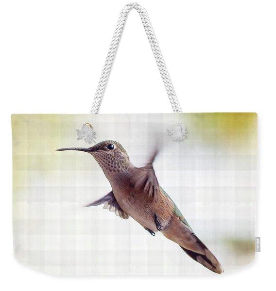 On The Wing Weekender Tote Bag