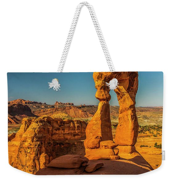 On This New Morning Weekender Tote Bag