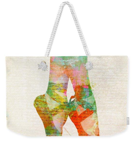 On Tippie Toes Weekender Tote Bag