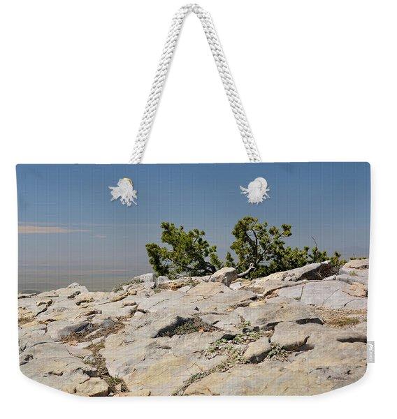 On Top Of Sandia Mountain Weekender Tote Bag
