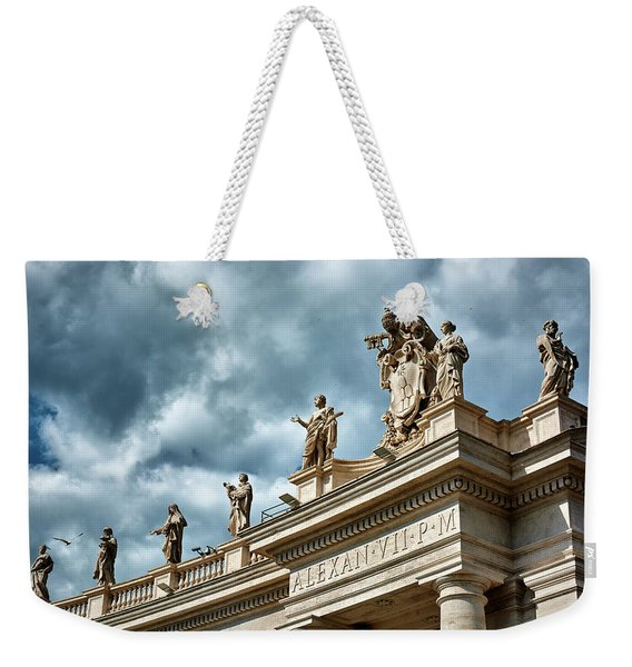 On Top Of The Tuscan Colonnades Weekender Tote Bag