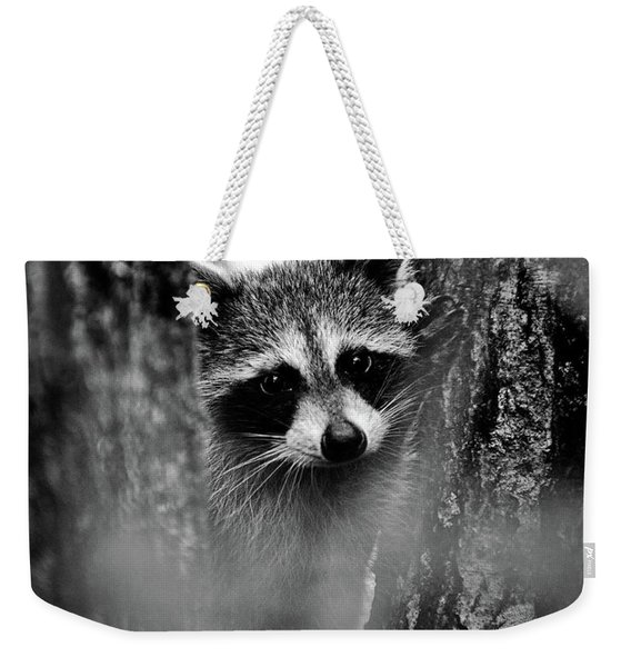 On Watch - Bw Weekender Tote Bag