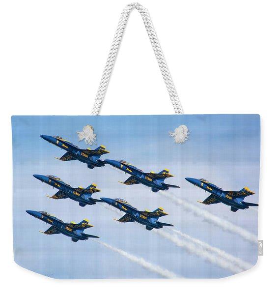 On Wings Like Eagles Weekender Tote Bag