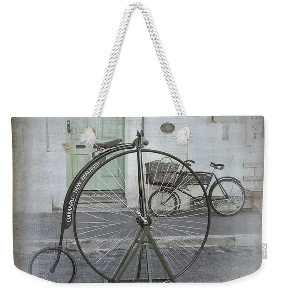 On Your Bike Weekender Tote Bag