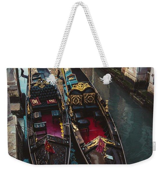 Once In Venice Weekender Tote Bag