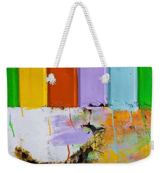 Weekender Tote Bag featuring the photograph Once Upon A Circus by Skip Hunt