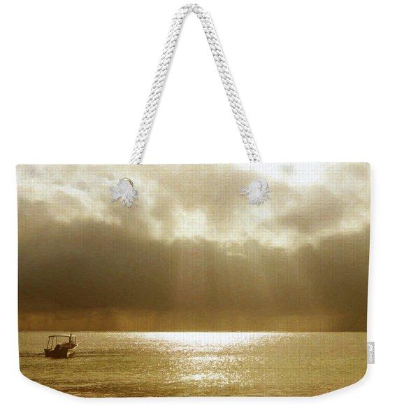 One Boat Weekender Tote Bag