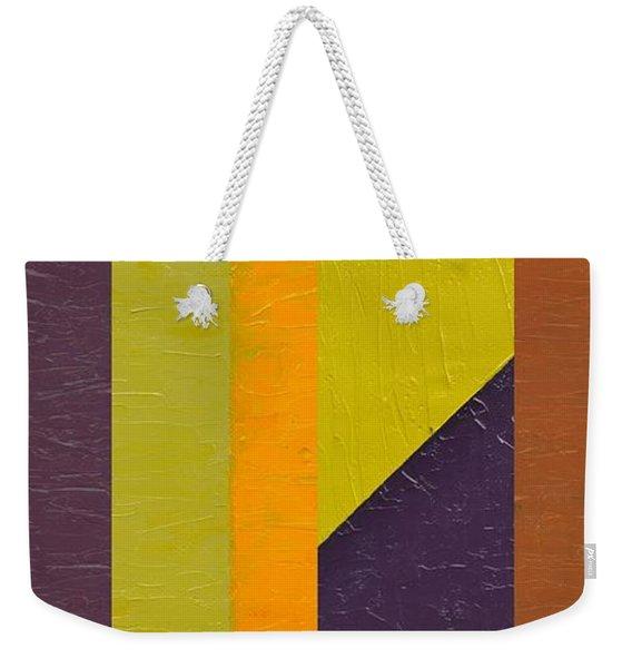 One By Three Weekender Tote Bag