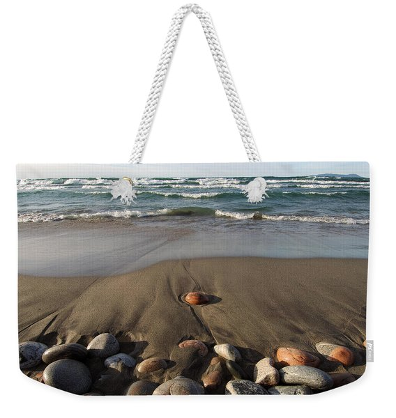 Weekender Tote Bag featuring the photograph One by Doug Gibbons