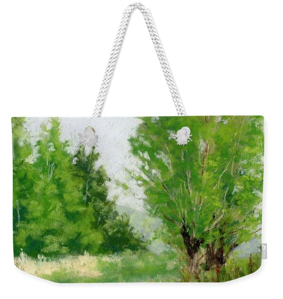 One Fine Spring Day Study Weekender Tote Bag