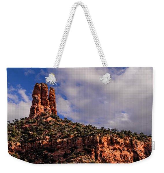 One Finger Shy Weekender Tote Bag