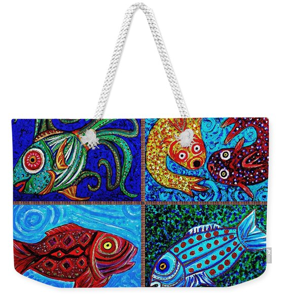 One Fish Two Fish Weekender Tote Bag