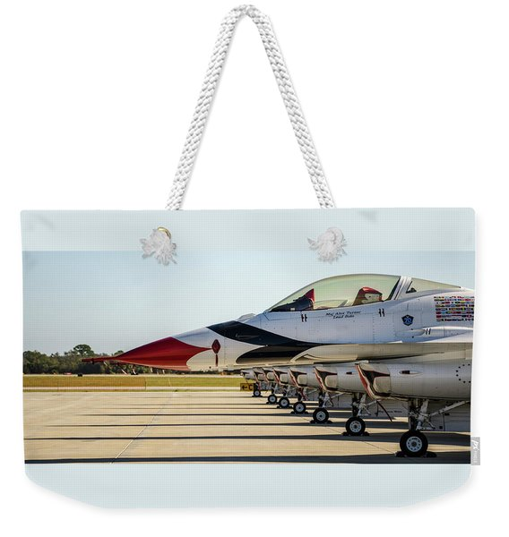 One Jet Or Seven Weekender Tote Bag