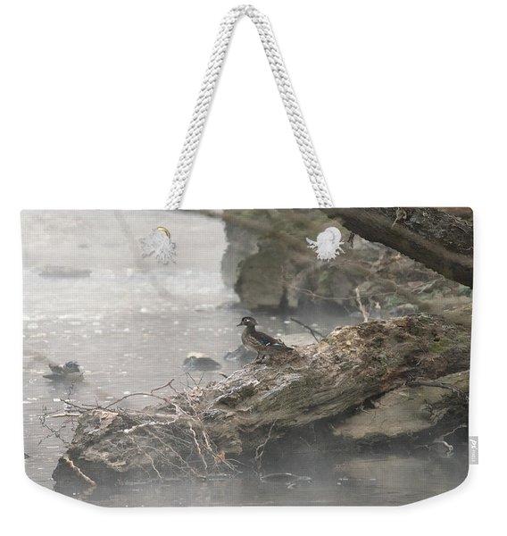 One Little Ducky Weekender Tote Bag