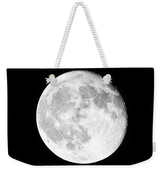 One Moon Weekender Tote Bag