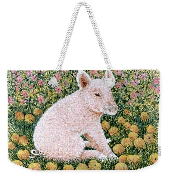 One More Apple Weekender Tote Bag