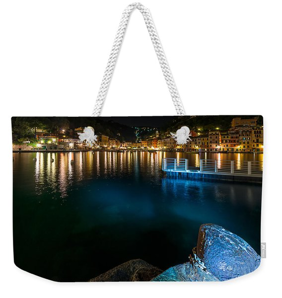 One Night In Portofino - Una Notte A Portofino Weekender Tote Bag