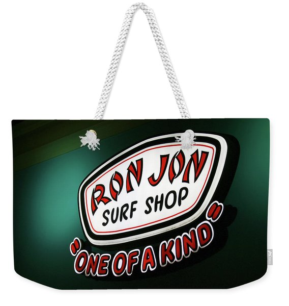 One Of A Kind Surf Shop Weekender Tote Bag