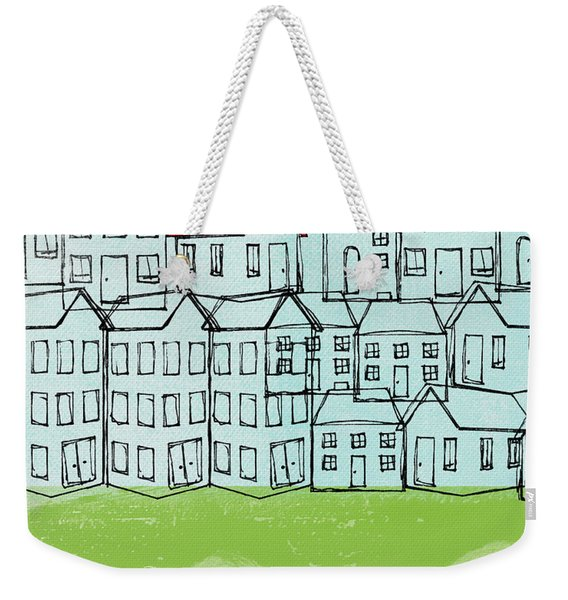 One Red Roof Weekender Tote Bag