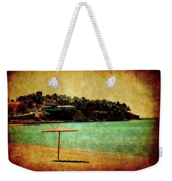 One Summer Day In Greece Weekender Tote Bag