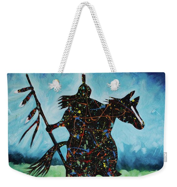 One Warrior Weekender Tote Bag