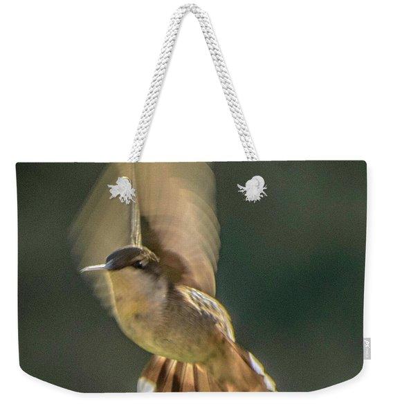 One_wing Weekender Tote Bag