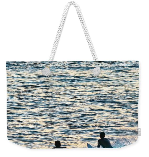 One With The Sun Weekender Tote Bag