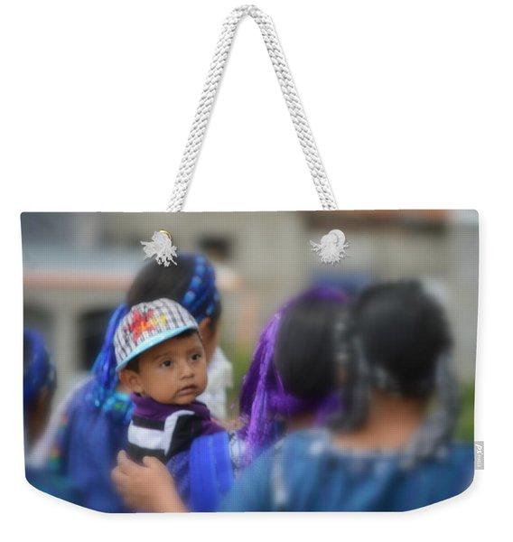 One World Weekender Tote Bag