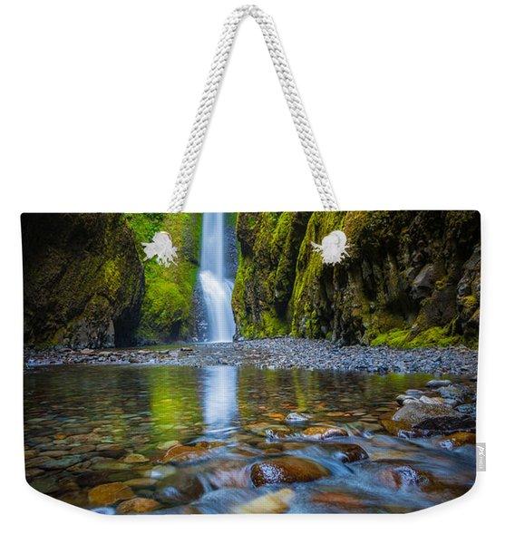 Oneonta Cascades Weekender Tote Bag