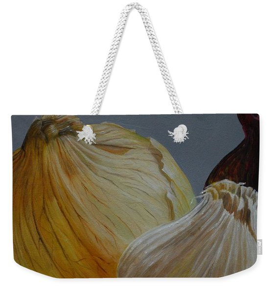 Onions And Garlic Weekender Tote Bag