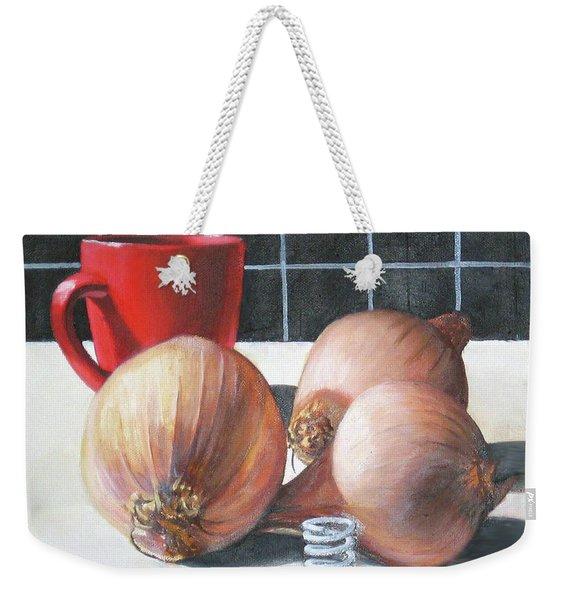 Onions Weekender Tote Bag