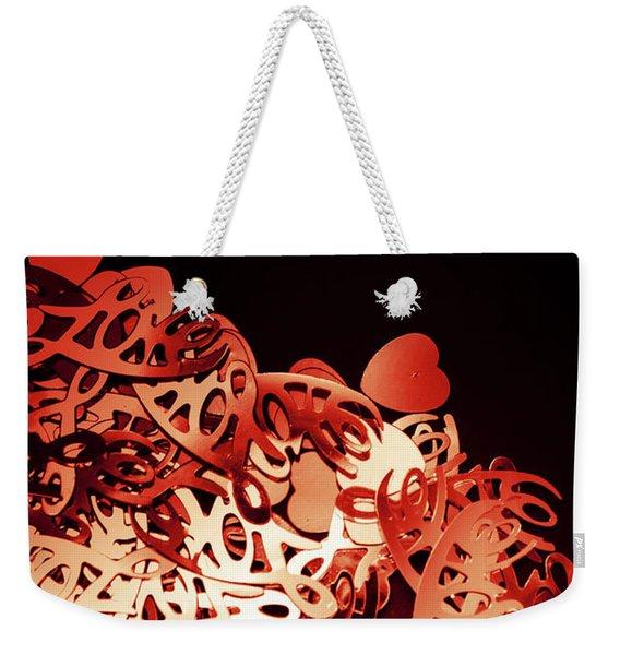 Only Love Weekender Tote Bag